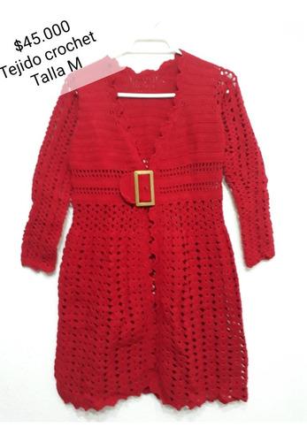 tejido a crochet a mano exclusivo talla m