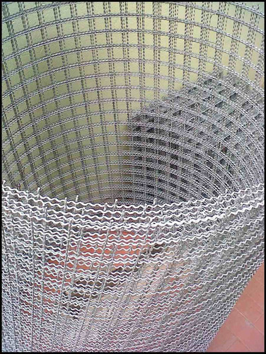 tejido artístico 30x30 alambre nº14 rollo de 1.00x10.00mts