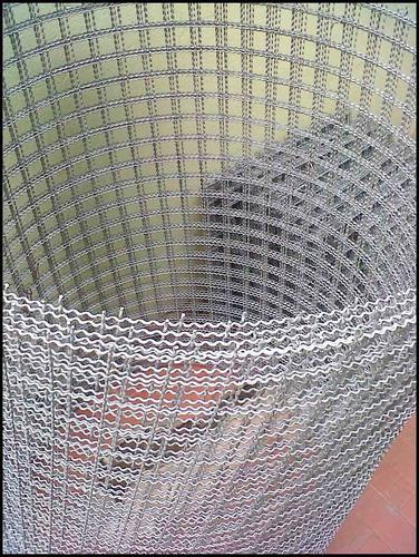 tejido artistico 50x50 alambre nº11. acep. tarj. credito