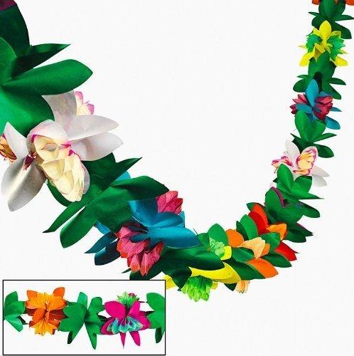 tejido guirnalda de flores por fun express (1-pack)