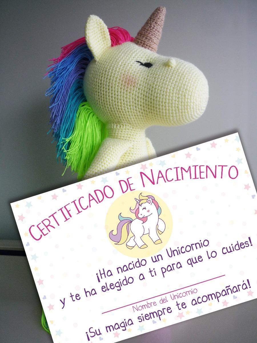 Tejido Peluche Unicornio Arcoiris Técnica Crochet Amigurumi - Bs ...