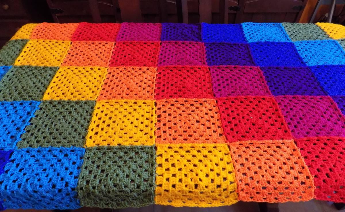 Tejidos Crochet Cubrecamas Pie De Cama Mantas Etc 85000 En