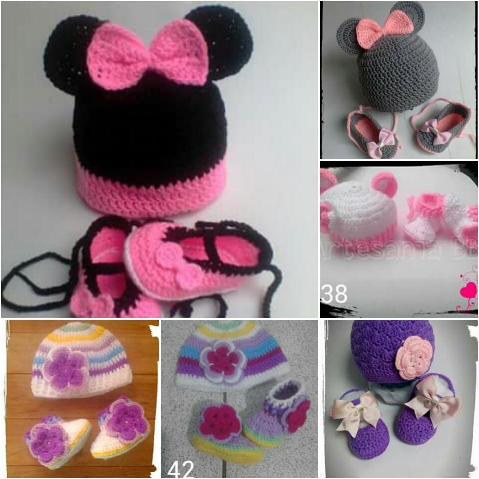 1acd35779 Crochet Sandalias A Bs De Bebe 1 Botas Gorro Zapatos Tejidos 20 OPkXZiuT