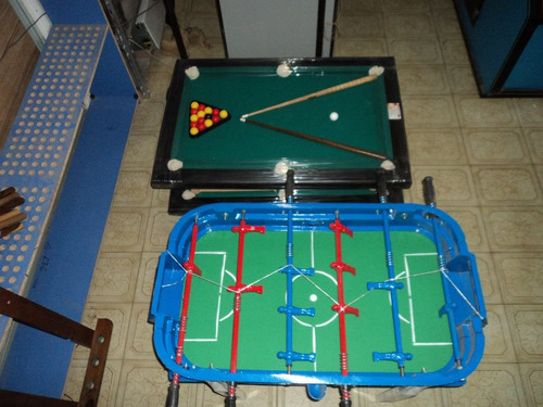 tejo + metegol + pool mini