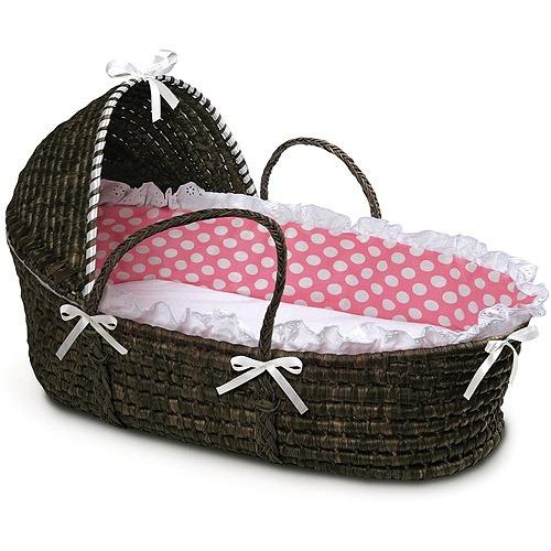 tejón cesta - cesta de moisés de espresso con capucha y