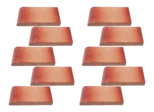 tejuela canto redondo plano 22x11x3 x 10 unid. fara nº16