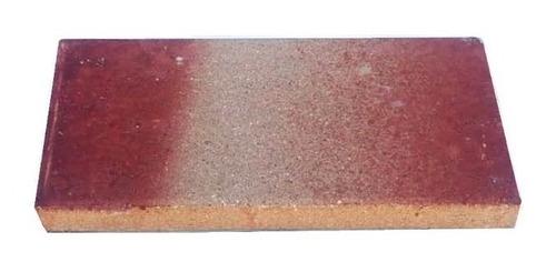 tejuela refractaria color 3cm x 10unid. p/ parrilla fara nº4