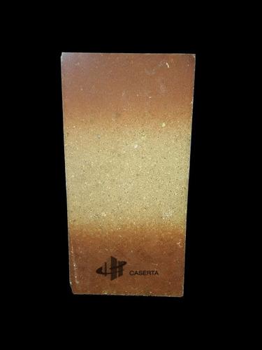 tejuela refractaria n°5 esmaltada 229x114x22 mm fara