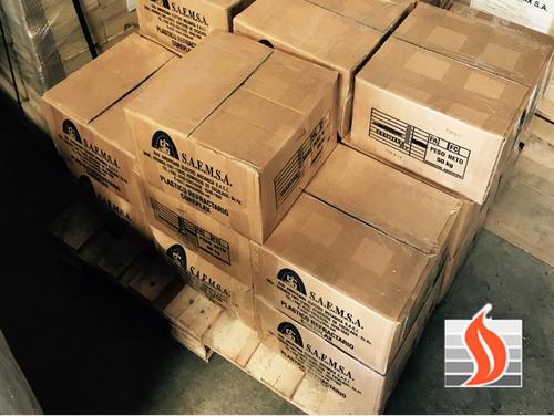tejuela refractaria premium - 229x114x32mm parrilla hogares