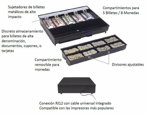 tek gaveta caja registradora cajon dinero bematech 3nstar
