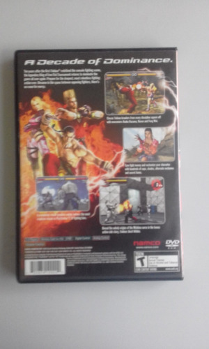 tekken 5 playstation 2 original americano