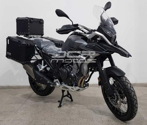 tekken 500cc de rvm jawa llanta/rayos, 3 baúles, defensa