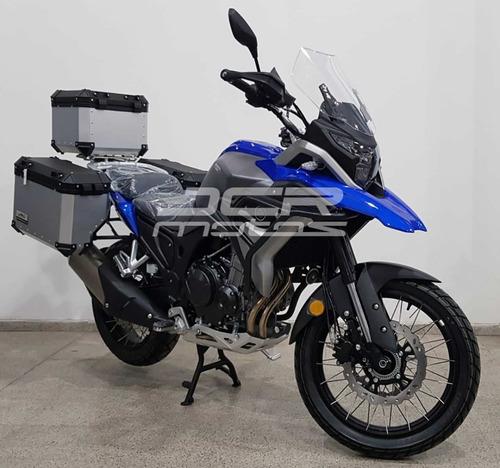 tekken 500cc  rvm jawa llantas/rayos, 3 baúles, defensa