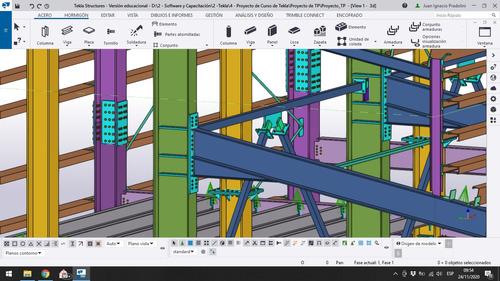 tekla structures: servicios de modelado 3d estructuras