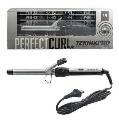teknikpro perfect curl buclera profesional pelo ondas 19mm