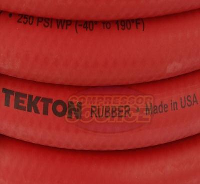 tekton 1/2 -inchx 50' goma aire manguera 250 psi flexible la