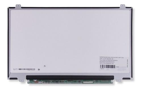tela 14.0'' led slim conector inferior direito n140bge-l43