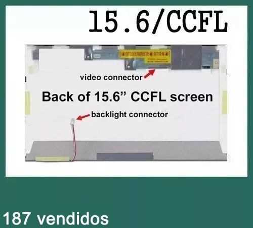 tela 15.6 lcd lâmpada ltn156at01 b156xw01 lp156wh1