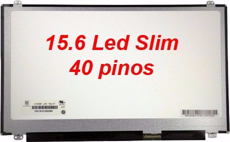 tela 15.6 led slim 40 pinos  hp envy sleekbook m6-1125dx