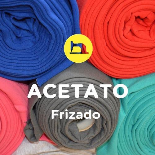 tela acetato frizado (desde 10 m.) jogging | elegí color