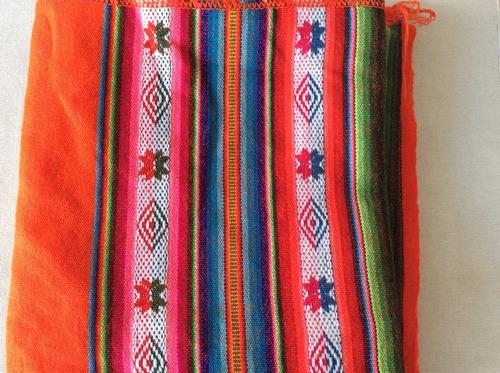 tela aguayo boliviano piezas de 1.25 x 1.25 mts