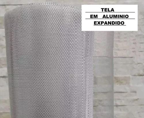 tela anti insetos de alumínio 15cm x 100cm para ralos