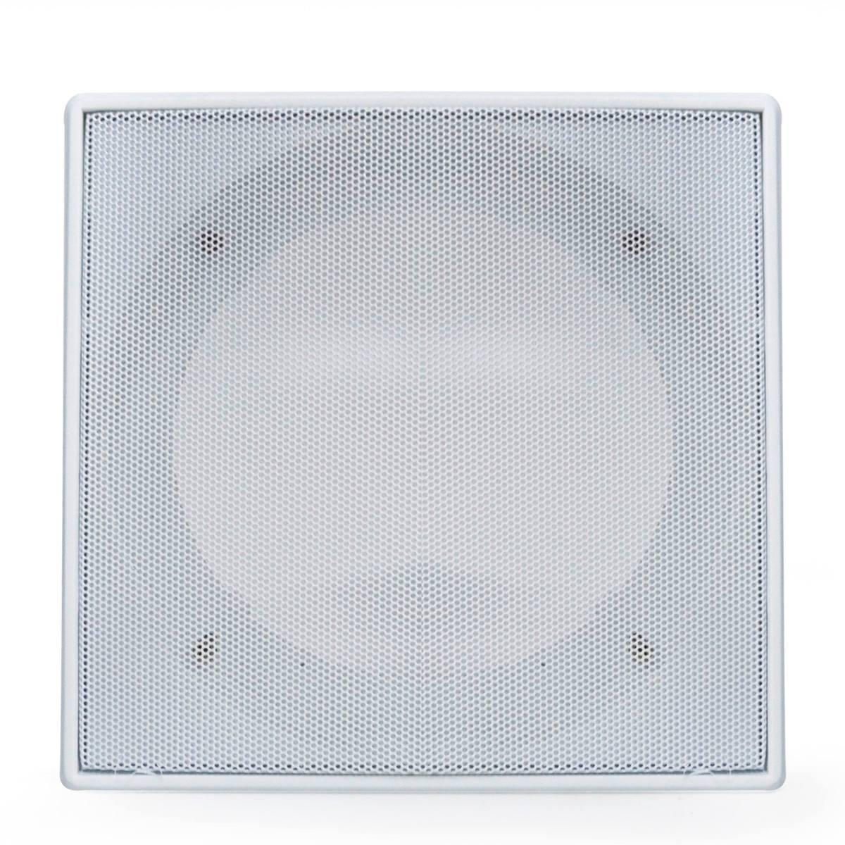 Tela Arandela Quadrada 6 Pol Branca Para Teto De Gesso Sanca R 45