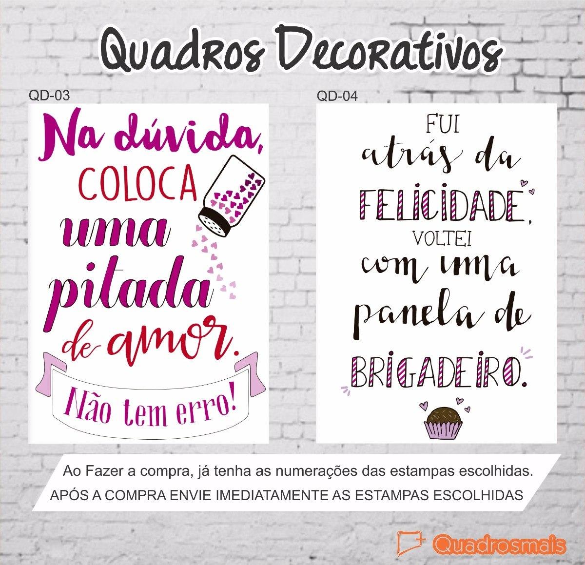 Tela Canvas Decorativo Frases Motivacionais 70x50