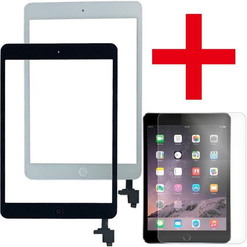 tela com botão home e touch ipad mini a1432 + pelicula vidro