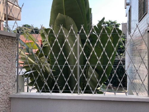 tela cortante / rede laminada com 1 metro de altura - rj/rio