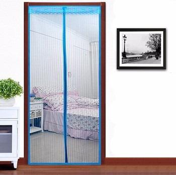 tela cortina mosquiteiro magic mesh porta janela lils