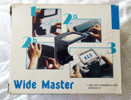tela de aumento para game gear - nova - raridade - na caixa