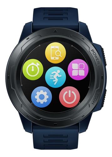 tela de exibição zeblaze vibe 5 pro smart watch 1.3 ips
