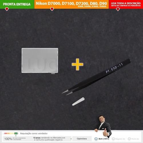 tela de foco fresnel + pinça para nikon leia compatib. | nc