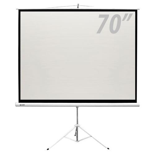 tela de projeção com tripé70 polegadas  - csr