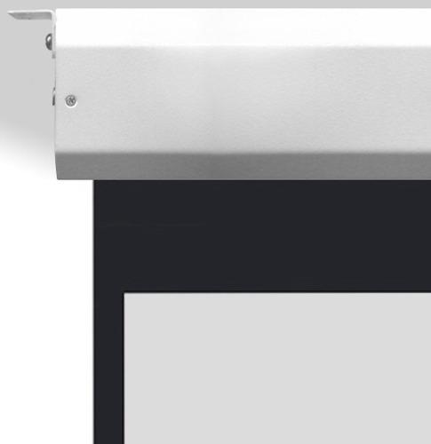 tela de projeçâo elétrica 150   polegadas modelo 4x3 normal