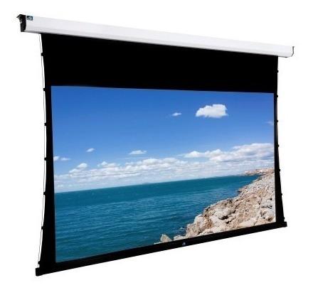 tela de projetor elétrica tensionada gaia 16:9 gbh-133