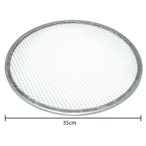 tela de proteção alumínio 35cm escorrer cobertura chocolate
