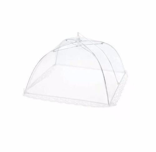 tela de proteção de alimentos bolo churrasco kit com 3