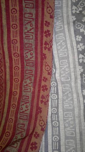 tela de tapiceria chenille chenilla crudo/ebano/choco.