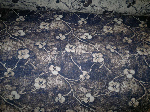 tela de tapiceria chenille fedora chocolate