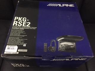 tela de teto com dvd alpine 10,2 polegadas pkg-rse2