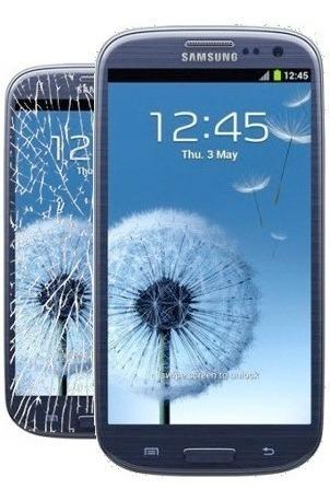 tela de vidro lente lcd samsung galaxy i9300 s3 azul