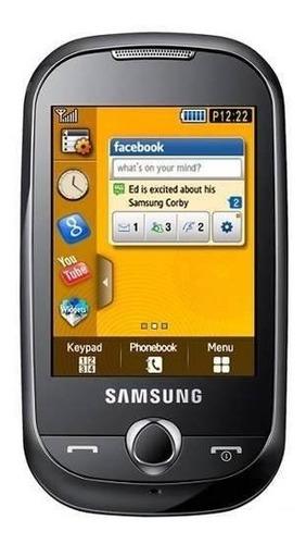 tela de vidro touch screen samsung corby s3650 - novo - pronta entrega