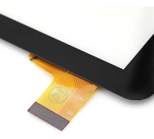 tela de vidro touch screen tablet qbex zupin tx-140