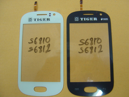 tela digitizer samsung touch screen s6810 s6812 branco