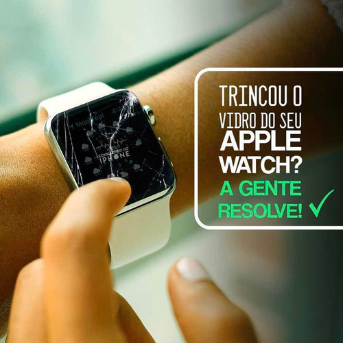 tela display apple watch séries (s1/s2/s3/s4/s5)