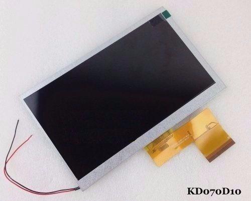 tela display lcd 7 60 vias para tablet pc kd070d10-60nb-a33