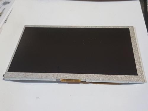 tela display lcd gps 7 polegadas  trilha de 1 a 60