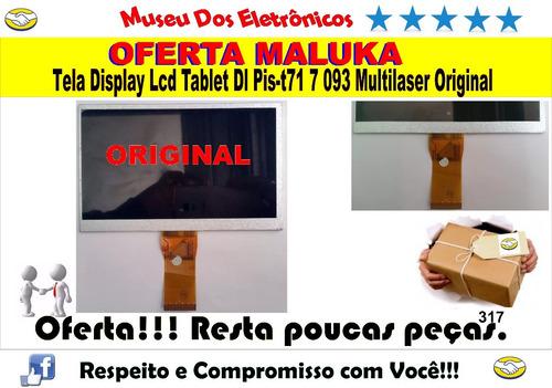 tela display lcd tablet dl pis-t71 7 093 multilaser original